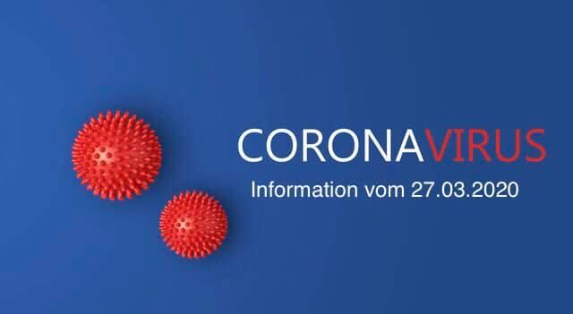 Corona vom 27.03.2020